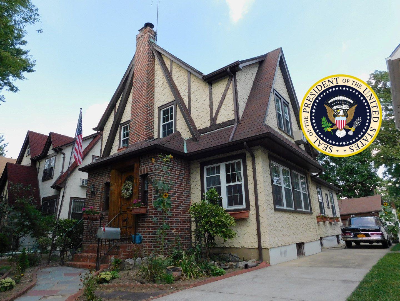 President Trump's Childhood Home